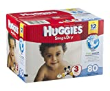 Huggies Diapers Snug & Dry Disney Size 3 (16 - 28 lb) 80 CT (Pack of 9)