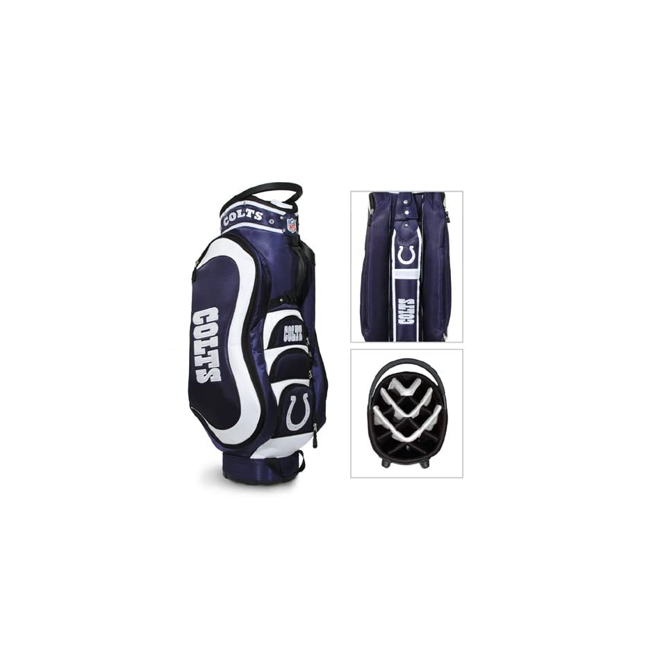 BSS   Indianapolis Colts NFL Cart Bag   14 way Medalist