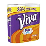 Viva Big Roll White Towels, 68 Count