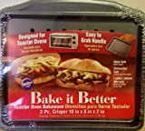 Wilton Bake It Better Toaster Oven Bakeware