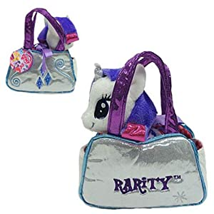 Aurora World My Little Pony Rarity Cutie Mark Carrier