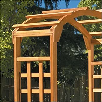Greenstone Arch Arbor, Natural