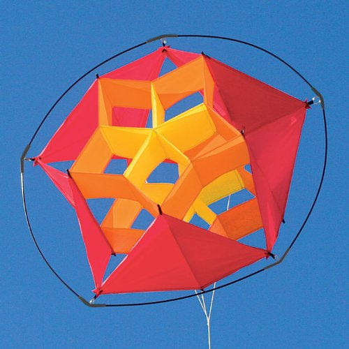 Into The Wind Hot Tumbling Star Box Kite