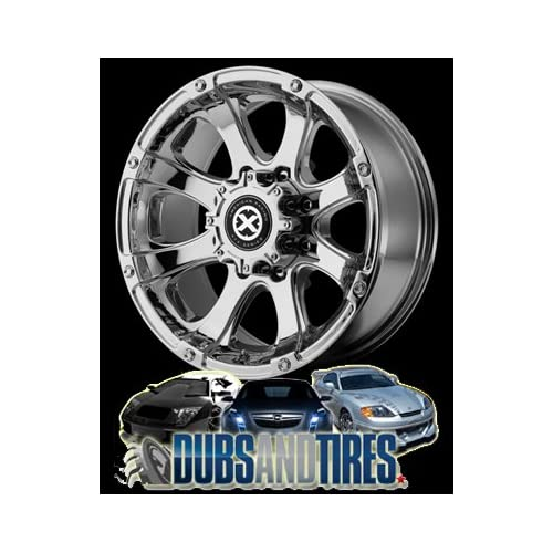 18 Inch 18x9 AMERICAN RACING ATX wheels LEDGE Chrome wheels rims