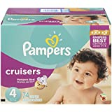 Pampers Pampers Cruisers Size 4, 74CT, 74 ct