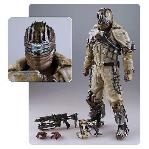 Dead Space 3 1:6 Scale Isaac Clarke Snow Suit Version Action Figure