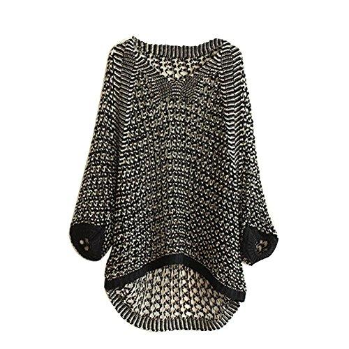 Fedi Women's Gril Warm Loose Knitwear Tops Jumper Pullover Blouse Coat Sweater