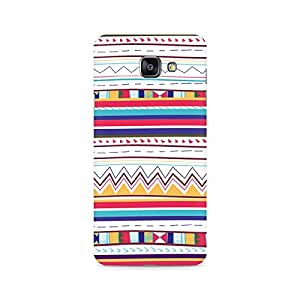 Ebby Tribal pastels Premium Printed Case For Samsung A710 2016 Version