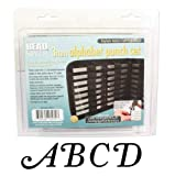 27 Piece Uppercase Stylish Italic Alphabet Letters A-Z Punch Set For Metal 3mm