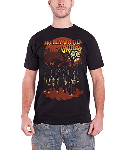 Hollywood Undead - Top - Maniche corte  - Uomo nero XX-Large