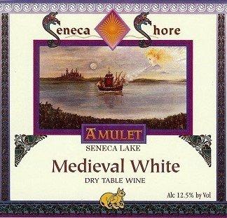 "Nv Seneca Shore Wine Cellars ""Medieval White"", Seneca Lake, Dry White Wine Blend, 750 Ml"
