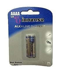 Immense AAAA LR8 1.5v Alkaline Battery (2 Blister Packs With 2 Cells each)