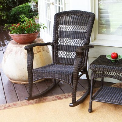 Portside Rocking Chair Finish: Dark Roast image