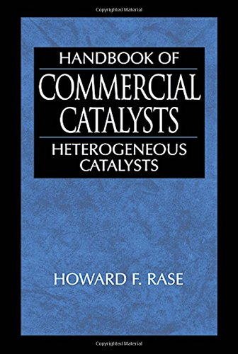 Handbook of Commercial Catalysts: Heterogeneous Catalysts, by Howard F. Rase