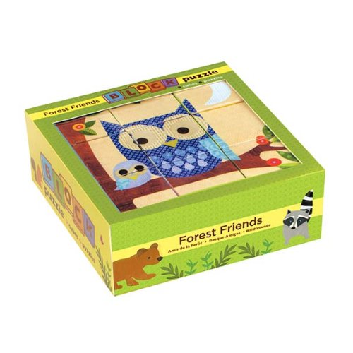 Mudpuppy Forest Friends Block Puzzle
