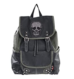 Bling Skull Backpack