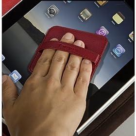 Targus CleanVu Cleaning Pads for Apple iPad, iPad 2, iPhone, Motorola Xoom, Samsung Galaxy, BlackBerry Playbook TXA00212US (2Black/1Red) 3 Pack
