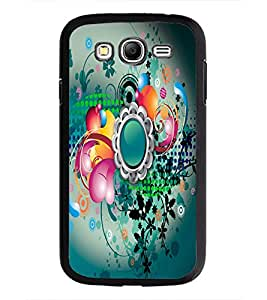 PrintDhaba Digital Abstract D-2084 Back Case Cover for SAMSUNG GALAXY GRAND I9082 (Multi-Coloured)