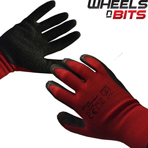 36-paires-de-jardinage-gants-de-travail-builder-grip-de-securite-en-caoutchouc-rouge-avec-revetement