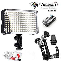 Aputure Amaran AL-H160 LED Video Light with Aputure A10 10\