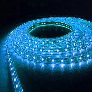 bandeau eclairage au sol led bleu habitacle voiture neon flexible high tech. Black Bedroom Furniture Sets. Home Design Ideas