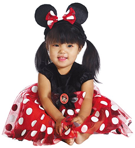 Red Minnie Mouse Costume - Infant