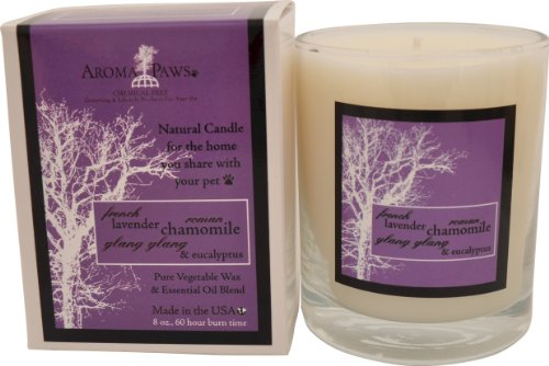 Aroma Paws Lavender Chamomile Candle in Gift Box