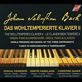 Bach: The well tempered clavier II, for Organ, Piano & Harpsichord, Le clavier bien temp�r� II