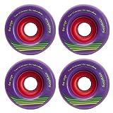 Orangatang Cage 73mm 83a Purple Longboard Skateboard Wheels Set of 4 New by Orangatang