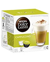 NESCAFÉ Dolce Gusto Cappuccino 16 Capsules, 8 servings (Pack of 3, Total 48 Capsules, 24 servings)