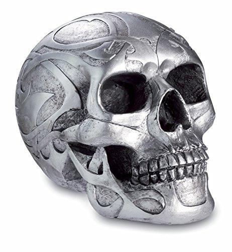 Fabulous celtico, argento gotico teschio figura, nuovo e in confezione