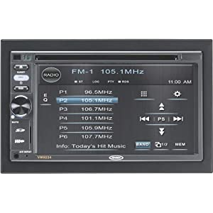 Jensen VX70DIN Multimedia Receiver, Touch Screen