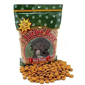 All Natural Dog Treats by Charlee Bear - Cheese & Egg - 16 oz resealable bag