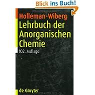 Lehrbuch der Anorganischen Chemie