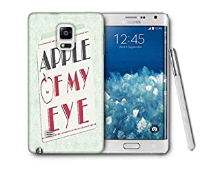 Snoogg Apple Of My Eye Printed Protective Phone Back Case Cover For Samsung Galaxy NOTE EDGE