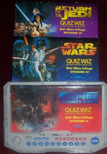 Star Wars Trilogy Quiz Wiz by Tiger Electronics