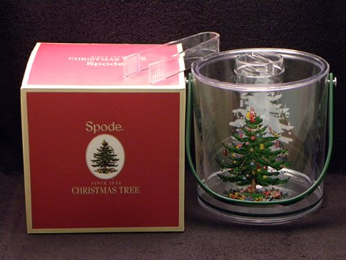 Spode Christmas Tree Acrylic Ice Bucket
