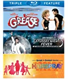 Grease/Saturday Night Fever/Hairspray (3FE)(BD) [Blu-ray]