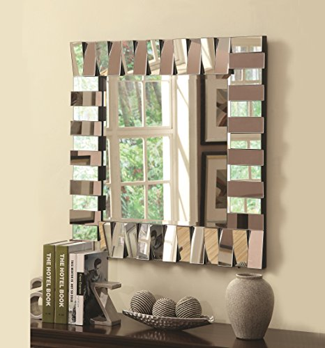 Coaster Home Furnishings 901806 Mirror, Silver