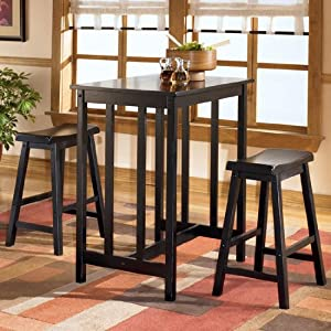 counter height table with 2 bar stools dining room furniture sets