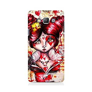 Mobicture Girl Cartoon Premium Designer Mobile Back Case Cover For Samsung Grand Prime 5308