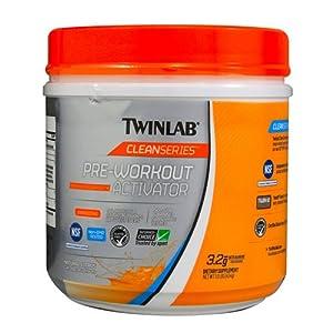 Twinlab Clean Series Pre-Workout Activator Citrus Flavor, 454 Gram