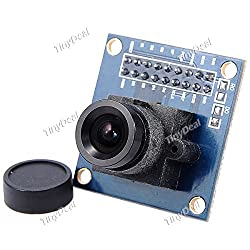 DIY OV7670 300KP VGA Camera Module for Arduino (Works with Official Arduino Boards) - Blue + Black EDC-274914