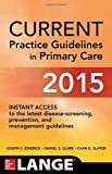 img - for CURRENT Practice Guidelines in Primary Care 2015 book / textbook / text book