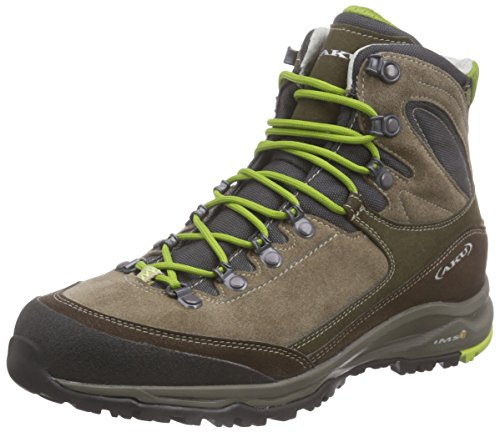 AKUGEA GTX - Scarpe da trekking e da passeggiata Unisex - Adulto , Marrone (Braun (BROWN/GREEN)), 42