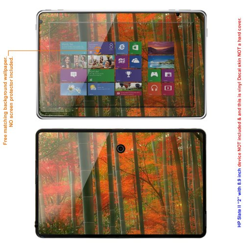Decalrus MATTE Protective Decal Skin skins Sticker for HP Slate 2