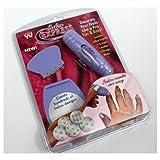 【並行輸入】【即納】サロンエクスプレス ネイルアート スタンピング・キット Salon Express Nail Art Stamping Kit