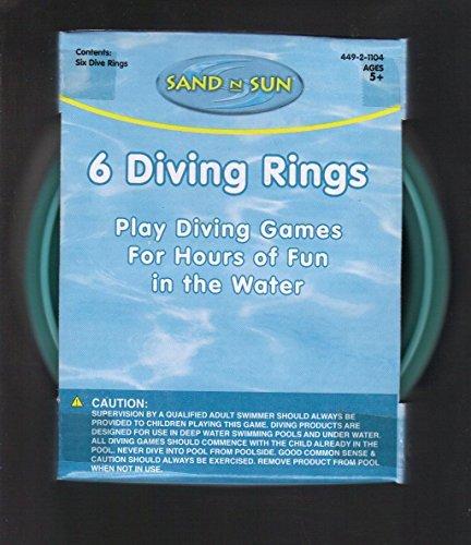 6 DIVING RINGS - 1