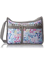 LeSportsac Deluxe Everyday Handbag,Paris In Bloom,One Size