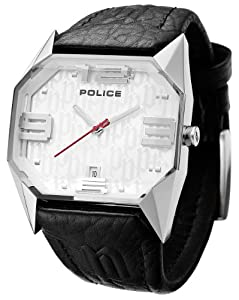 Police Men's PL-12176JS/04 Vector Silver Dial Watch